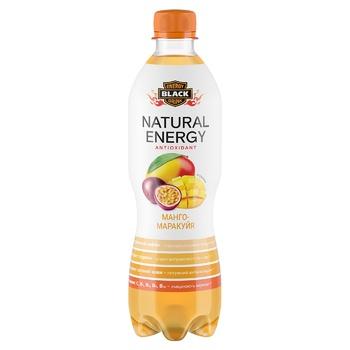 Напій Black Energy Natural Energy манго-маракуйя 0,5л