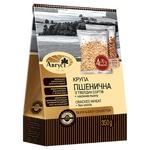 Крупа Август пшенична з твердих сортів + насіння льону 350г