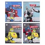 Зошит Transformers 12 аркушів, клітинка