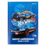 Kite Hot Wheels White Cardboard A4 10 sheets