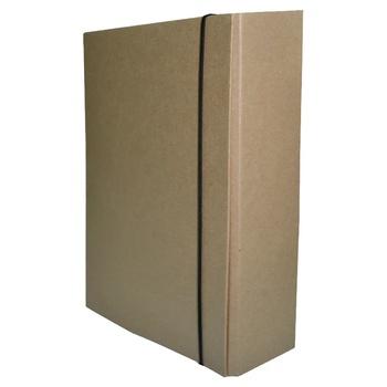 Папка-короб Eco на резинке А4 80мм