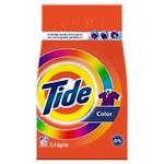 Tide Color Automat Laundry Detergent Powder 2,4kg