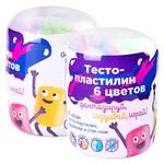 Мини-набор для лепки Genio Kids Тесто-пластилин 6 цветов