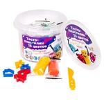 Набор для детского творчества Genio Kids Тесто-пластилин 15 цветов
