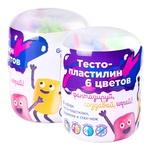 Міні-набір для ліплення Genio Kids Тісто-пластилін 6 кольорів