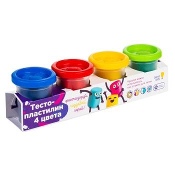 Genio kids Dough-plasticine 4 colors