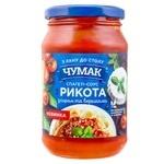 Соус-спагеті Чумак Рікота з сиром та вершками 340г