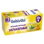 Фиточай Bebivita успокоительный для детей с 3 месяцев 30г