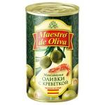 Оливки Maestro de Oliva з креветкою 280г