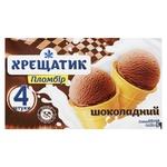 Hladyk Khreshchatyk Chocolate Ice cream 4pcs*90g