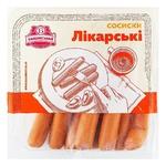 Сосиски Бащинский Докторские первый сорт без оболочки 300г