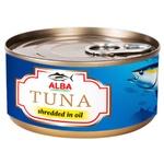 Тунець Alba Food салатний в олії 150г