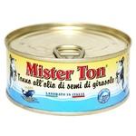 Mister Ton Tuna in Sunflower Oil 160g