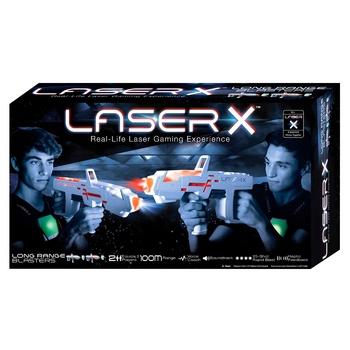 Ігровий набір д/лазерних боїв Laser X Pro д/2 ігроків 2 бластера, 2 мішені 88032