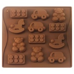 Форма Stenson Игрушки для конфет льда 12шт
