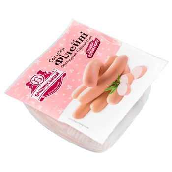 Baschinskyi loin sausages 420g - buy, prices for CityMarket - photo 1