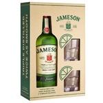 Jameson Whiskey 40% 0,7ml + 2 Glass Set