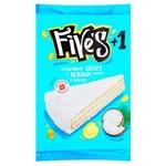 Торт вафельный Five's с кремом в кокосе 125г
