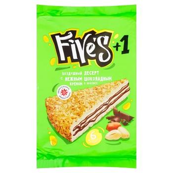 Торт вафельный Five's с кремом в кокосе 145г