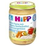 Hipp vegetables with sea fish puree 190g