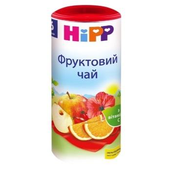 Чай дитячий ХіПП фруктовий з вітаміном С з 6 місяців 200г Швейцарія