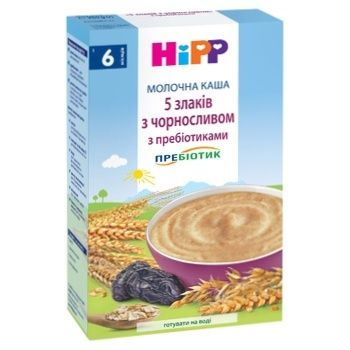 Hipp Porridge milk prunes 250g