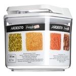 Ємність для зберігання Ardesto Fresh AR1307WP 0.7л білий вакуумний