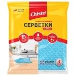 Chisto Moisture-absorbing Wipes 3pcs