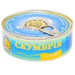 Fish atlantic mackerel Baltyk canned 240g