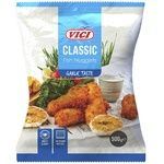 VICI with garlic in breadcrumbs frozen fish nuggets 500g