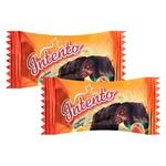 Конфеты АВК Intento шоколадные курага-бренди