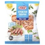 Креветки Vici в панцире варено-мороженые 90/120 500г