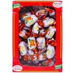 Цукерки Montio курага з горіхом в шоколадній глазурі 1кг