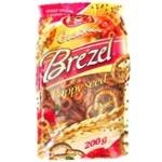 Крекер Два пекаря Брезель с маком 200г
