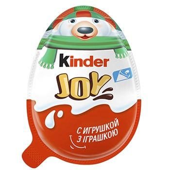 Kinder Joy Classic  With Two-Layer Milk And Cocoa Paste And Wafer Balls Covered With Cocoa Filled With Milk Cream And With Toy Inside Egg 20g - buy, prices for CityMarket - photo 2