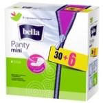 Bella Panty Mini Daily Pads 30+6pcs
