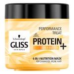 Маска для волос Gliss Perfomance Treat Protein+ Shea Butter 4в1 400мл