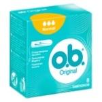 O.B. Original Normal Tampons 8pcs