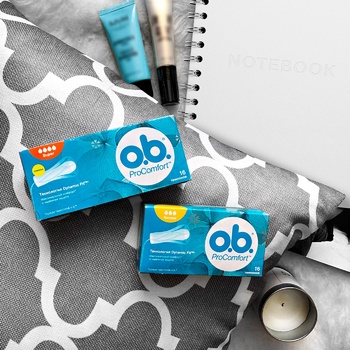 O.B. ProComfort Super Tampons 16pcs - buy, prices for CityMarket - photo 4