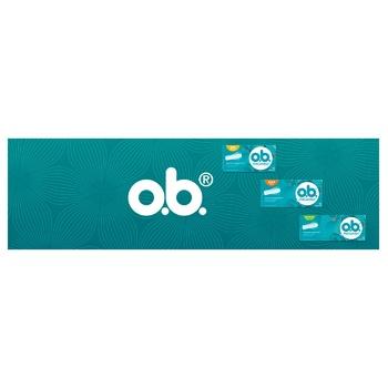 O.B. ProComfort Super Tampons 16pcs - buy, prices for CityMarket - photo 6
