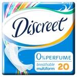 Прокладки щоденні Discreet Air Multiform 20шт
