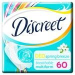 Discreet Spring Breeze Deo Daily Pads 60pcs