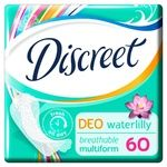 Discreet Water Lily Deo Multiforms Daily Pads 60pcs