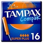 Tampax Compak Super Plus Tampons 16pcs