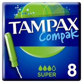 Тампоны Tampax Compak Super 8шт