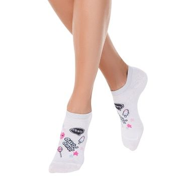 Sock Conte Active white cotton for women 23size Belarus