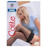 Conte Elegant Class Grafit Women's Stockings 40den 1-2s