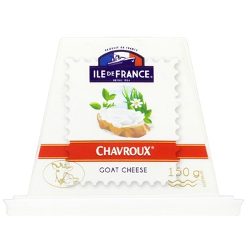 Ile de France Chavroux goat cheese 150g - buy, prices for CityMarket - photo 1