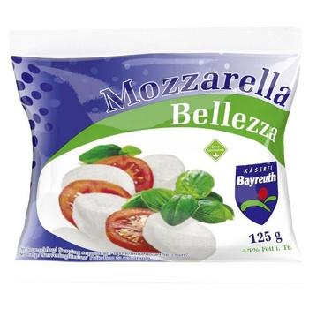 Сыр Bellezza Моцарелла 45% 125г
