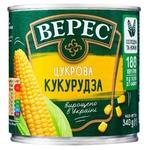 Кукуруза Верес сахарная 340г
